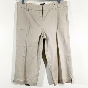 J Crew Favorite Fit Khaki Tan Bermuda Shorts Sz 4